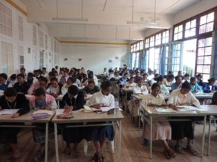 Rentrée des classes pour les 4 novices malgaches