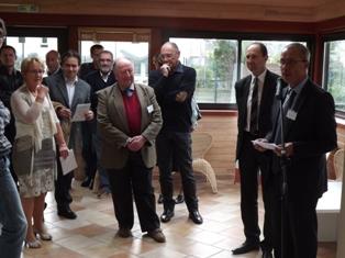 Inauguration de «L'Olivier» à Saint-Brieuc