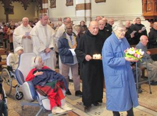 Fête de saint Jean de Dieu à Marseille-St Barthélémy
