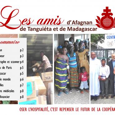 Lettre d'infos des Amis d'Afagnan 2019