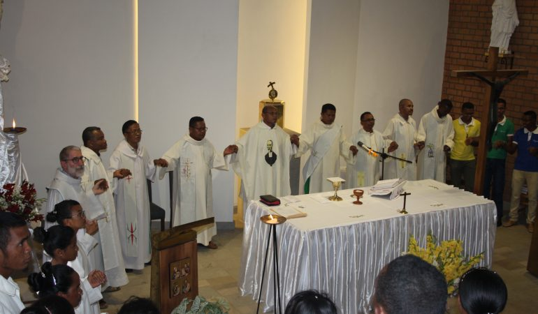 Madagascar – Inauguration de l'aumônerie